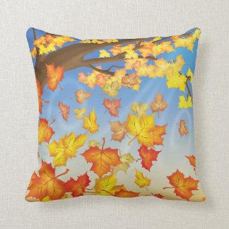 Jingle Jingle Little Gnome Autumn Leaves Pillow