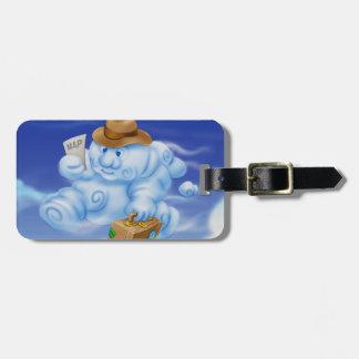 Jingle Jingle Little Gnome Cloud Luggage Tag