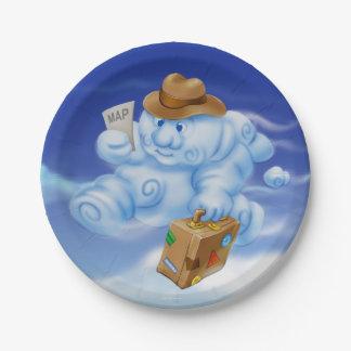 Jingle Jingle Little Gnome Cloud Paper Plates