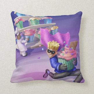 Jingle Jingle Little Gnome Cupcake Caper Pillow