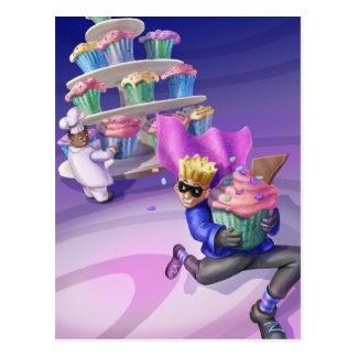 Jingle Jingle Little Gnome Cupcake Caper Postcard