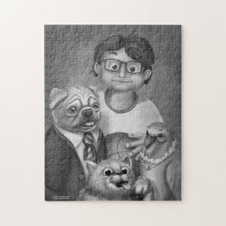 Jingle Jingle Little Gnome Family Portrait Puzzle
