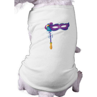 Jingle Jingle Little Gnome Feather Mask Dog Shirt
