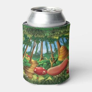 Jingle Jingle Little Gnome Forest Can Cooler