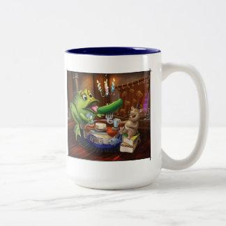 Jingle Jingle Little Gnome Frog and Mouse Mug
