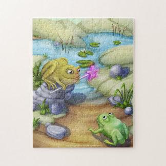 Jingle Jingle Little Gnome Frog & Toad Puzzle