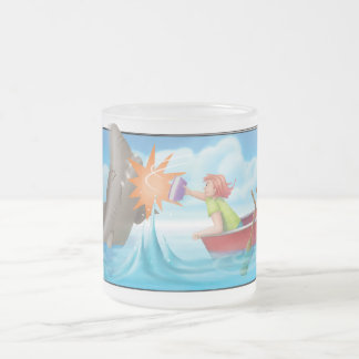 Jingle Jingle Little Gnome Frosted Nosy Shark Mug