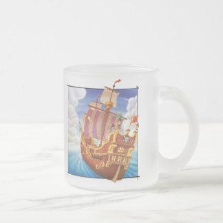 Jingle Jingle Little Gnome Frosted Pirate Ship Mug