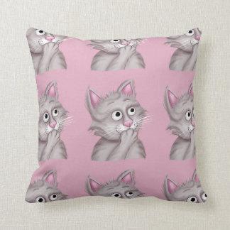 Jingle Jingle Little Gnome Funny Cat Pillow