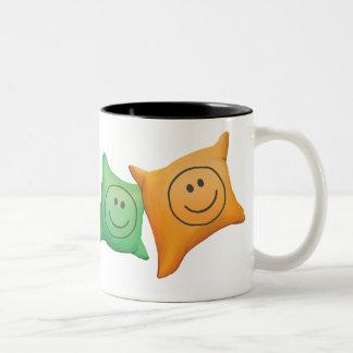 Jingle Jingle Little Gnome Giggles & Smiley Mug