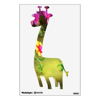 Jingle Jingle Little Gnome Giraffe Wall Decal