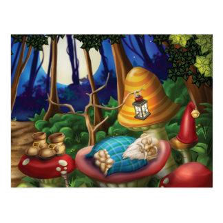 Jingle Jingle Little Gnome Gnome Nap Postcard