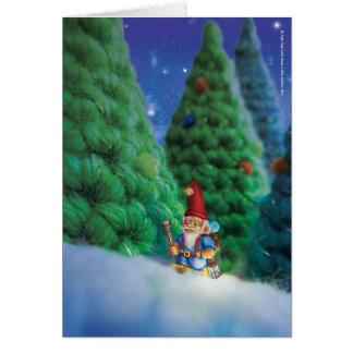 Jingle Jingle Little Gnome Greeting Card