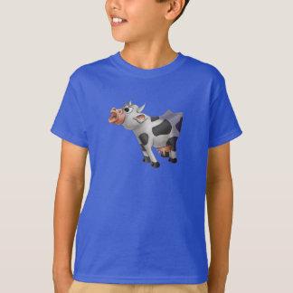Jingle Jingle Little Gnome Hanes Cow T-Shirt