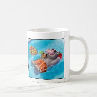 Jingle Jingle Little Gnome Happy Hippo Mug