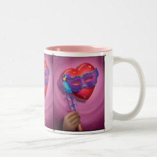 Jingle Jingle Little Gnome Heart Mask Mug
