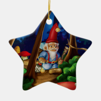 Jingle Jingle Little Gnome Heart Ornament