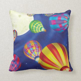 Jingle Jingle Little Gnome Hot Air Balloon Pillow