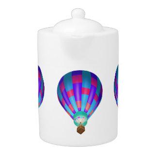 Jingle Jingle Little Gnome Hot Air Balloon Teapot