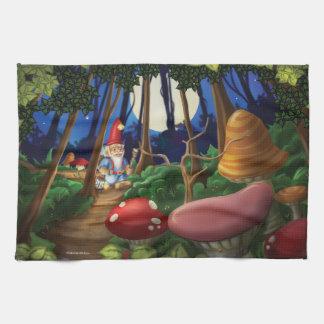 Jingle Jingle Little Gnome Kitchen Towel