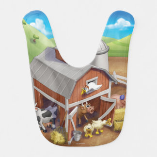 Jingle Jingle Little Gnome Loud Farm Bib