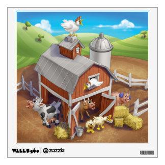 Jingle Jingle Little Gnome Loud Farm Wall Decal