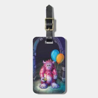 Jingle Jingle Little Gnome Monster Luggage Tag