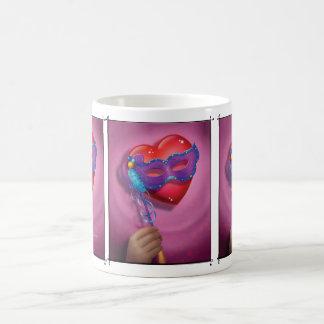 Jingle Jingle Little Gnome Morphing Heart Mug