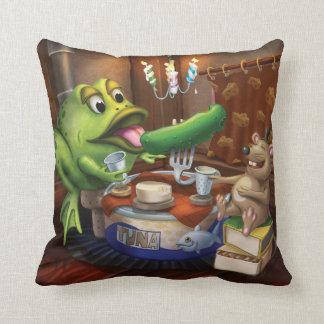 Jingle Jingle Little Gnome Mouse & Frog Pillow