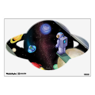 Jingle Jingle Little Gnome Outer Space Wall Decal