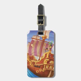 Jingle Jingle Little Gnome Pirate Luggage Tag