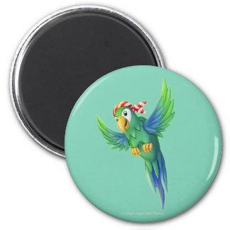 Jingle Jingle Little Gnome Pirate Parrot Magnet