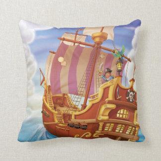 Jingle Jingle Little Gnome Pirate Ship Pillow