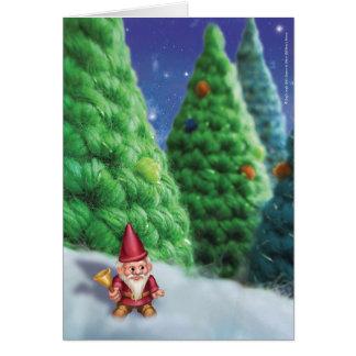 Jingle Jingle Little Gnome Snowy Forest Card