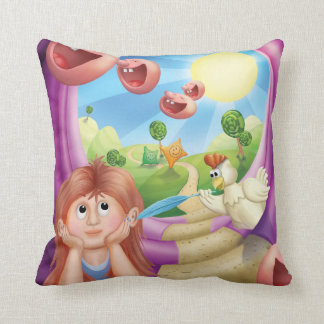 Jingle Jingle Little Gnome Think Happy Pillow