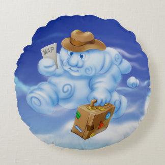 Jingle Jingle Little Gnome Traveling Cloud Pillow