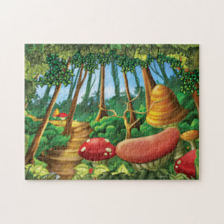 Jingle Jingle Little Gnome Whimsical Forest Puzzle