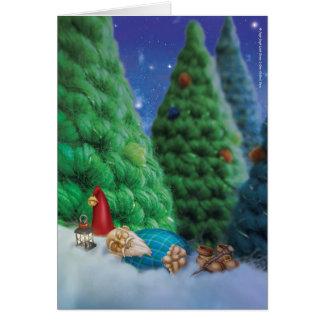 Jingle Jingle Little Gnome Zzz Greeting Card