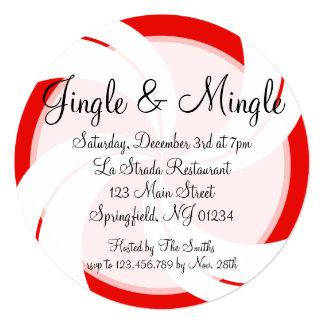 Jingle & Mingle Christmas Invitation