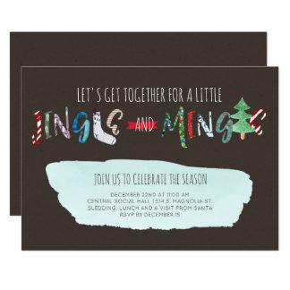 Jingle & Mingle Party Invitation