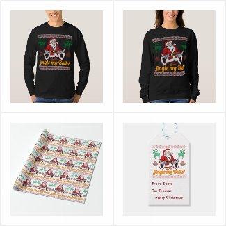 Jingle My Balls Santa Claus Ugly Christmas Gifts