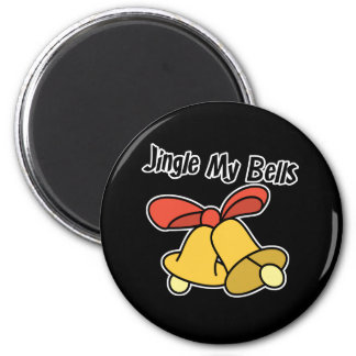 Jingle My Bells 2 Inch Round Magnet