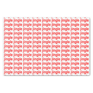 Jingle Red Tissue Paper
