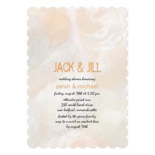 3b8f1484904d Jingle Shells Modern Jack and Jill Wedding Shower Invitation