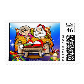 Jingle Snores Postage Stamp