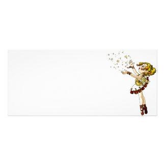 Jingle Star Rack Card
