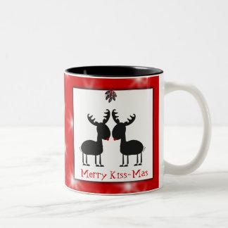 Jingles Christmas Two-Tone Coffee Mug