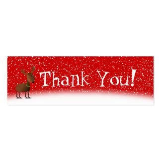 Jingles Thank You Card