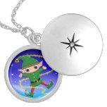 Jinglz™ Jingle Bell Elf  necklace