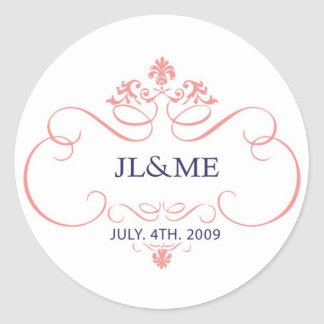 Jinnie and Mags Logo Sticker